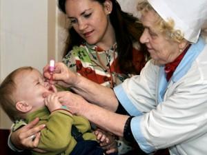 В Северо-Кавказском и Южном округах РФ пройдёт дополнительная иммунизация против полиомиелита