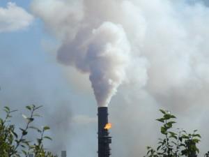 Городской загрязнённый воздух развивает дыхательные болезни