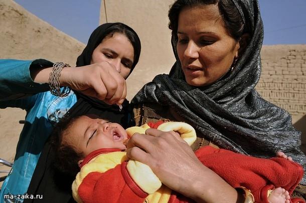 В Абхазии проходит вакцинация детей против полиомиелита
