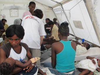 ООН предсказала сотни тысяч случаев холеры на Гаити