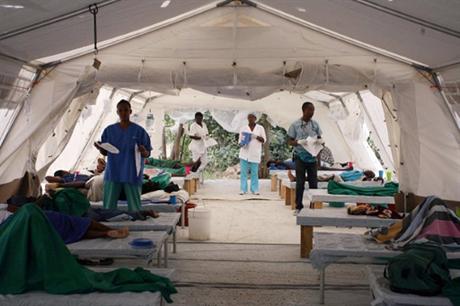 Ученые расшифровали ДНК захватившей Гаити холеры