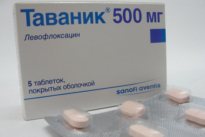 Таваник (левофлоксацин) в лечении инфекций мочевыводящих путей