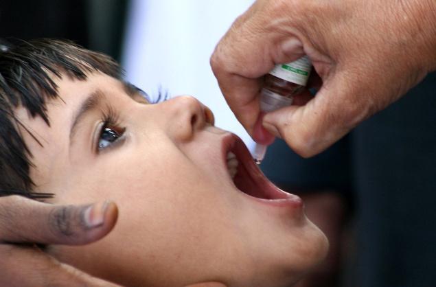 Дополнительная вакцинация детей от полиомиелита пройдет в России в апреле и мае 2011 года
