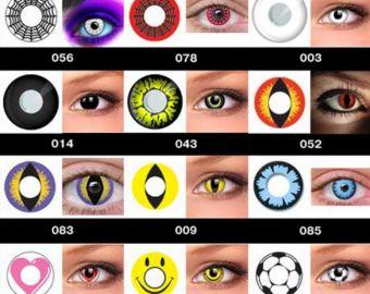Специалисты заявляют об опасности использования цветных контактных линз