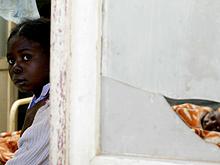 Республику Конго поглощает эпидемия кори