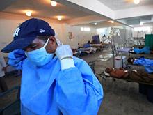 Холера захватила столицу Доминиканской Республики