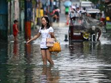 Разрушительные тайфуны поставили Филиппины на грань эпидемической катастрофы