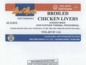 170 американцев отравились кошерной куриной печенью