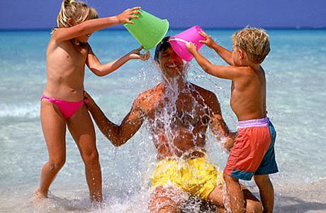 Отдых на море укрепит иммунитет ребенка