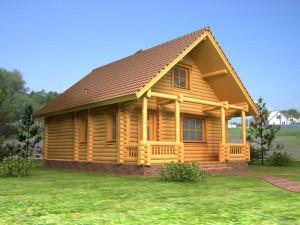 Деревянный дом, здоровье приносящий