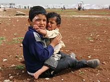 Сотни сирийских детей находятся в опасности заражения полиомиелитом