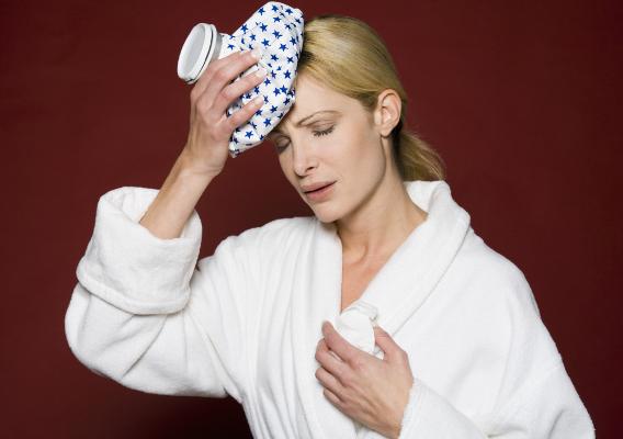 Смерть от токсикоза при гриппе