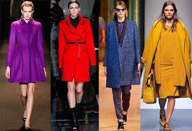 Модные цветовые тенденции осень-зима 2015-2016 года