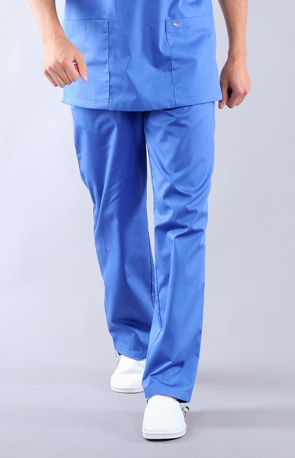 Медицинские брюки на молнии