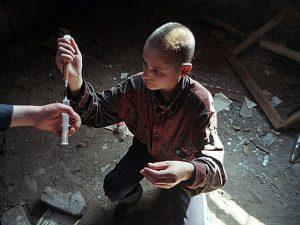 Как уберечь ребенка от приема наркотиков