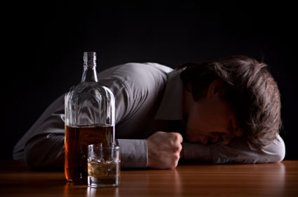 Прерывание длительного алкогольного запоя