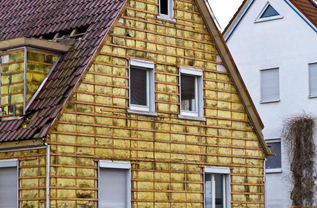 Утепляем деревянный дом