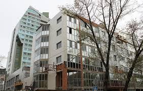 Отделка фасада нежилых помещений