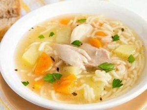 Этот суп признан прекрасным средством от простуды