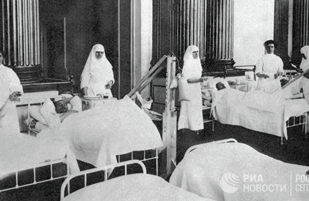 Союзники считали грипп немецким ядом
