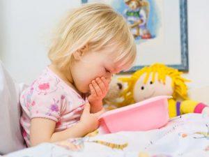 Рвота у ребенка. Как остановить?