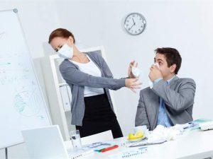 Как в офисе не заразиться гриппом: правила профилактики