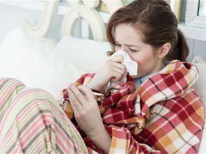 Взрослый человек болеет гриппом два раза в 10 лет