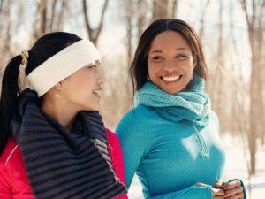 Как укрепить иммунитет: зимний фитнес