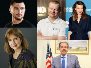 Популярные украинские американцы