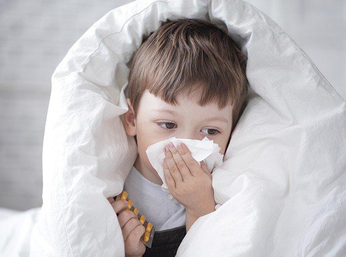 Питание ребёнка при простуде